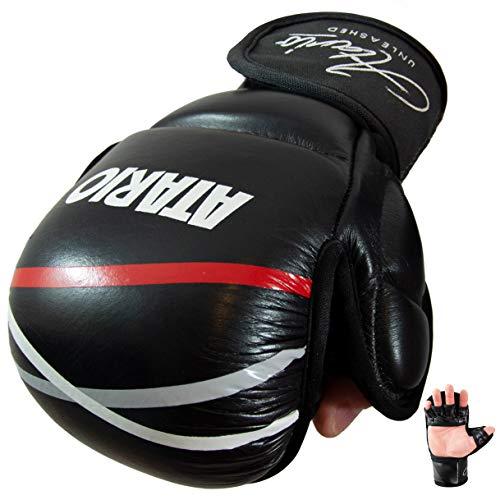 ATARIO Premium MMA Handschuhe aus Leder...*