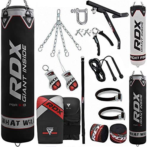 RDX Boxsack Set Gefüllt Kickboxen MMA...