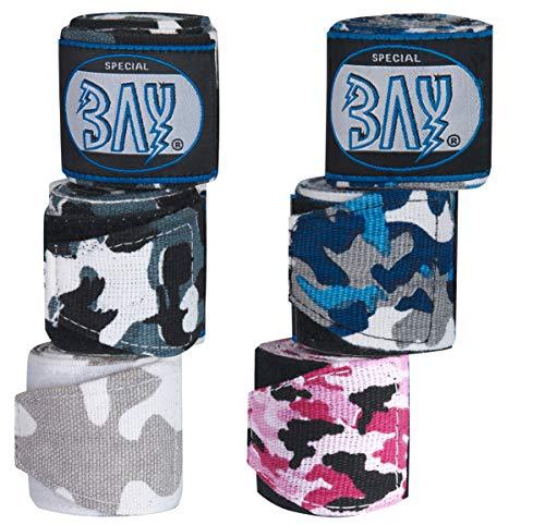 BAY® Camouflage Boxbandagen SCHWARZ*