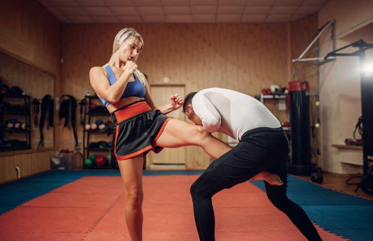 Tiefschutz im Kampfsport