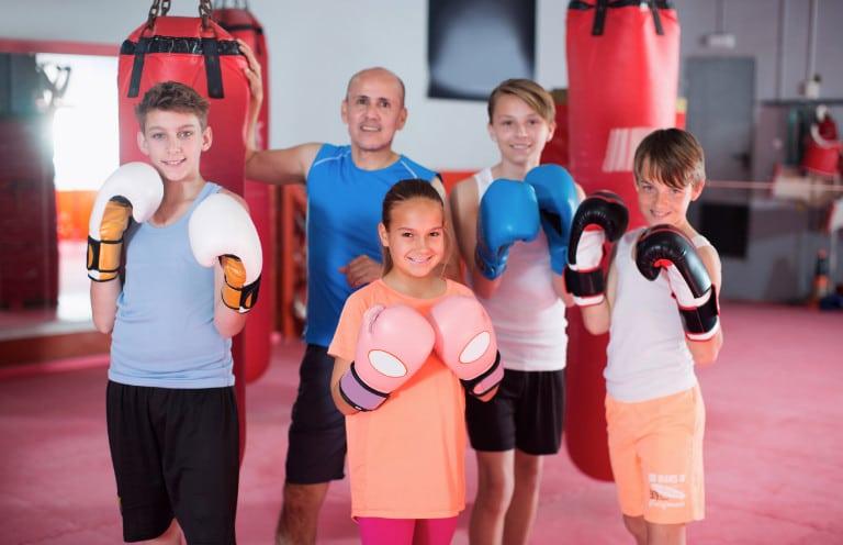 Boxtraining für Kinder